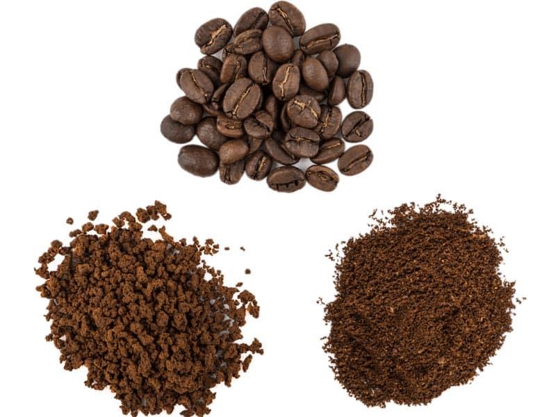 tipos molido cafe