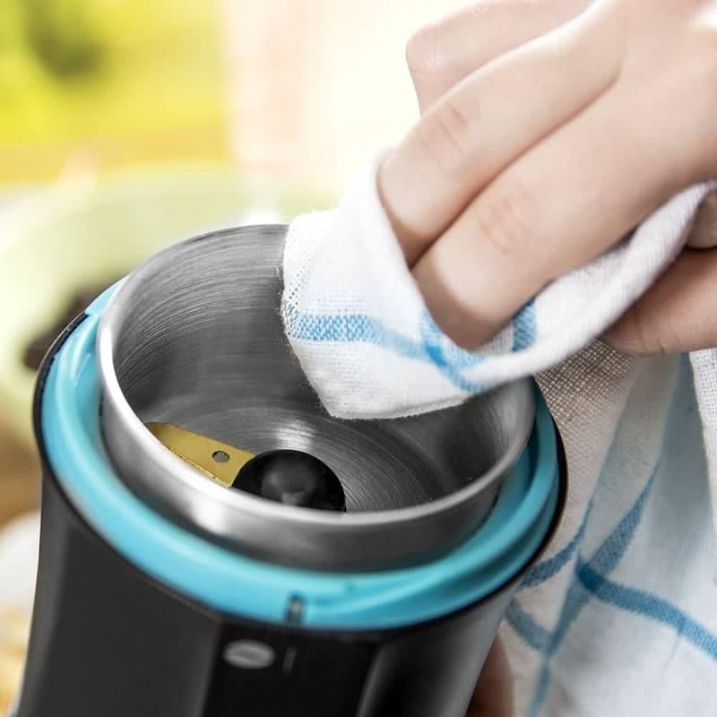 limpiar molinillo de cafe electrico