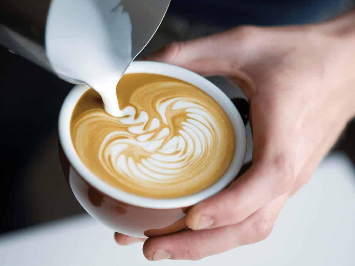 calorias de cafe con leche