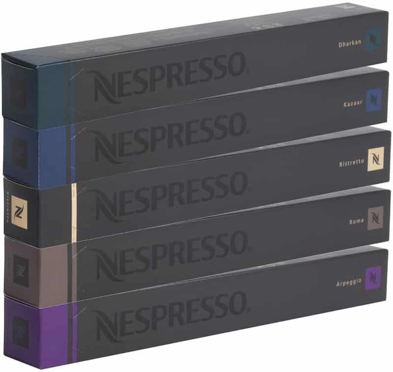 Capsulas rellenables Nespresso