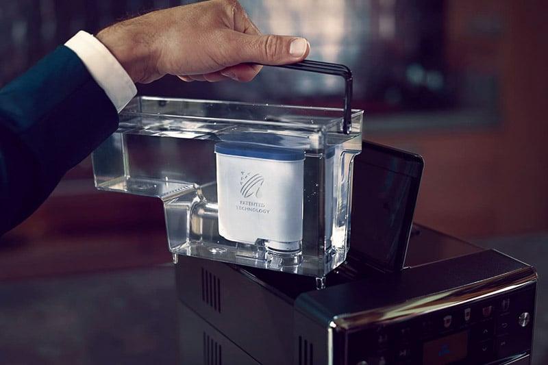 filtro agua cafetera philips
