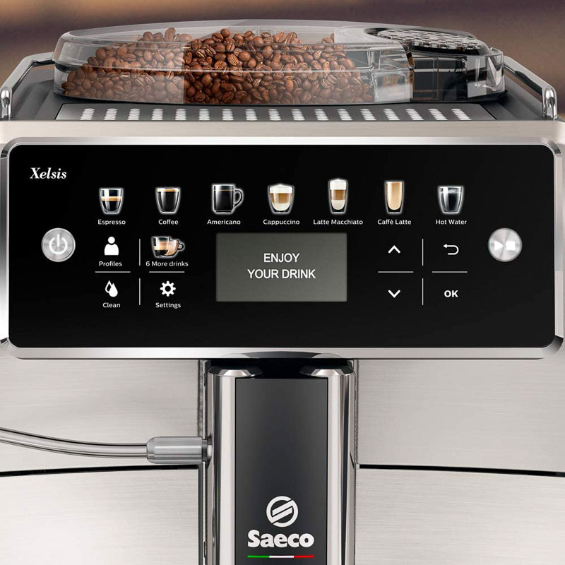 Programación cafetera philips automática